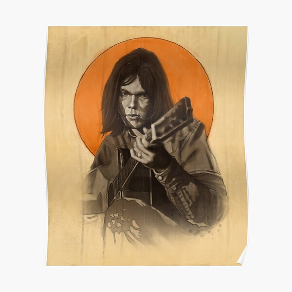 Neil Young Harvest Poster