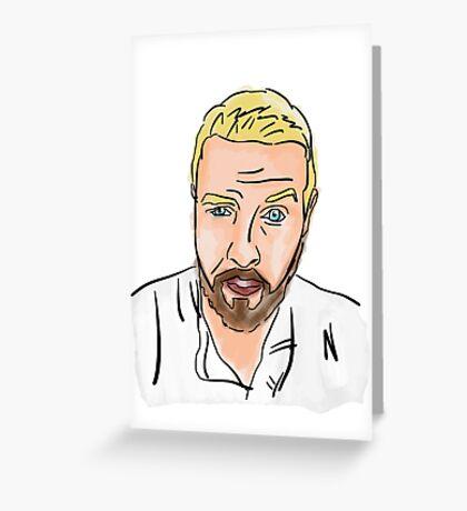 Steve Myers Illustration Greeting Card