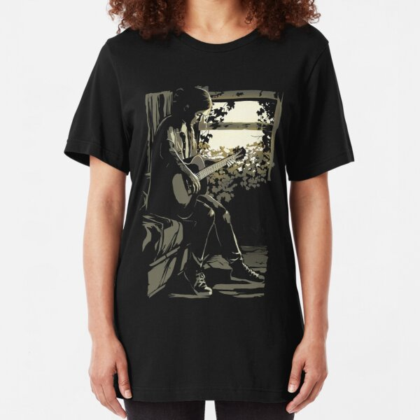 the last of us part ii 2 ellie Slim Fit T-Shirt