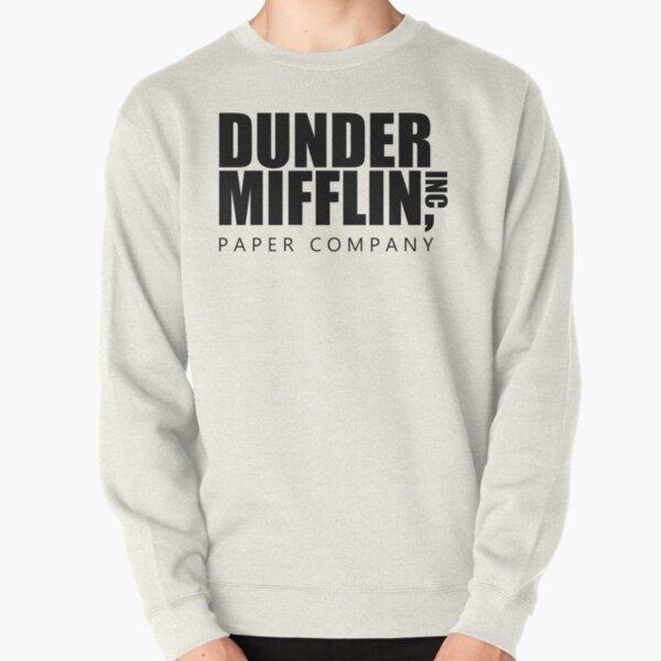 la oficina dunder mifflin logo Sudadera sin capucha