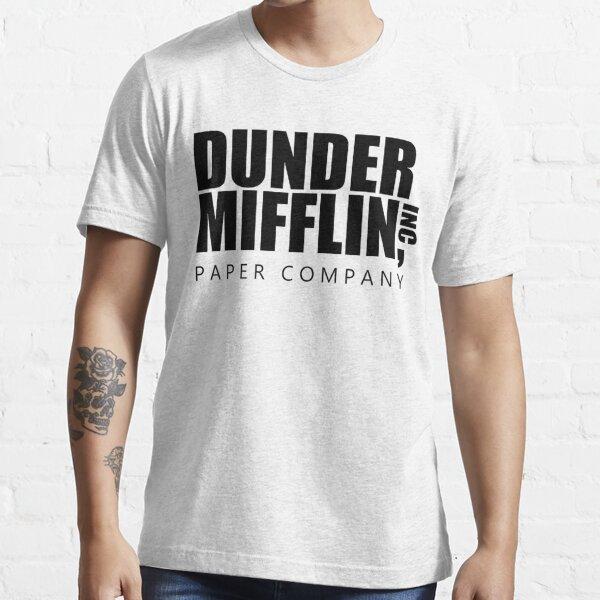 the office dunder mifflin logo Essential T-Shirt