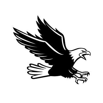 Screaming Eagle Side Retro by patrimonio