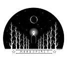 Moon Spirit (black writing) by Nalakwsis