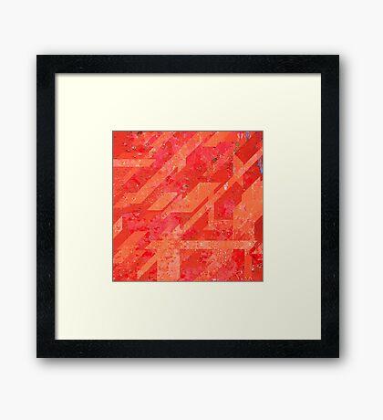 Metal Mania - No.3 Framed Print