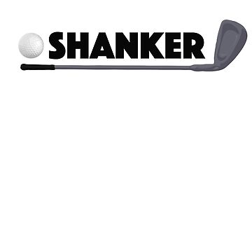 Shanker Golf Pro Funny Golfer Prank Ball and Club by zot717