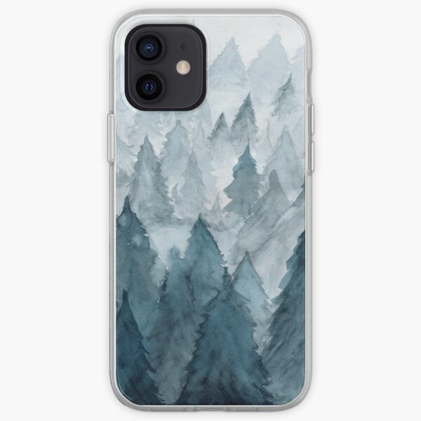 Clear Winter iPhone Soft Case