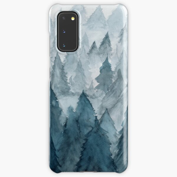 Clear Winter Samsung Galaxy Snap Case