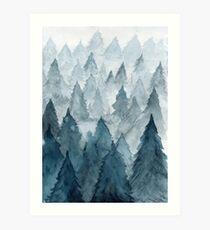 Clear Winter Art Print