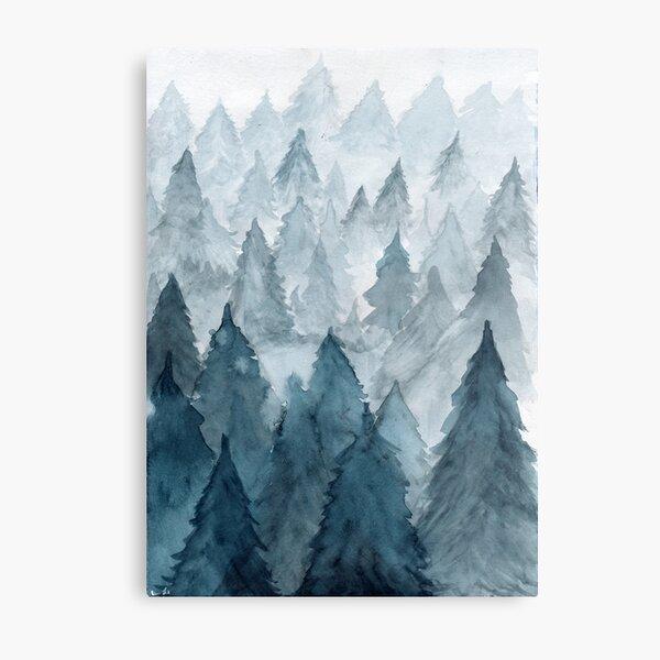 Clear Winter Metal Print