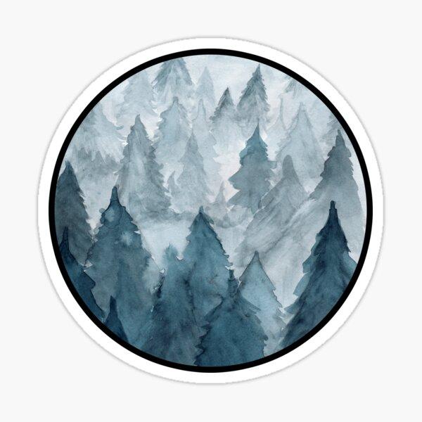 Clear Winter Sticker
