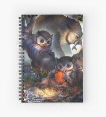 Cuaderno de espiral Baby Bestiary - Owlbear Cub