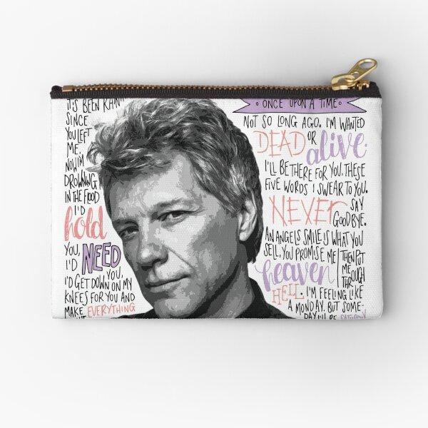 Jon Bon Jovi Zipper Pouch