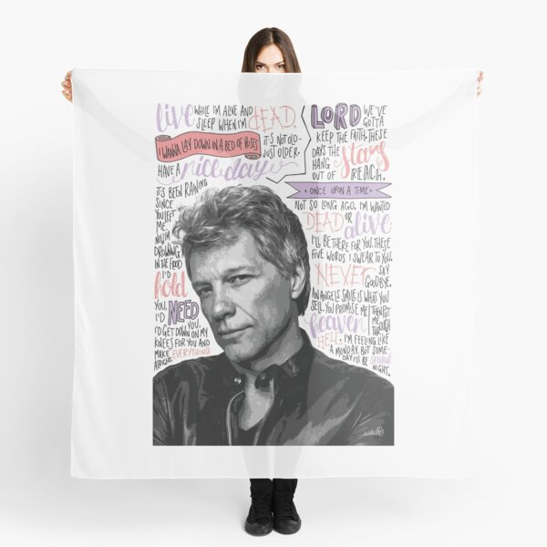 Jon Bon Jovi Scarf