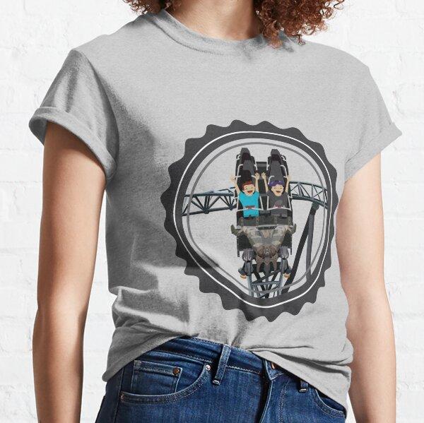 Klugheim Rollercoaster Design Classic T-Shirt