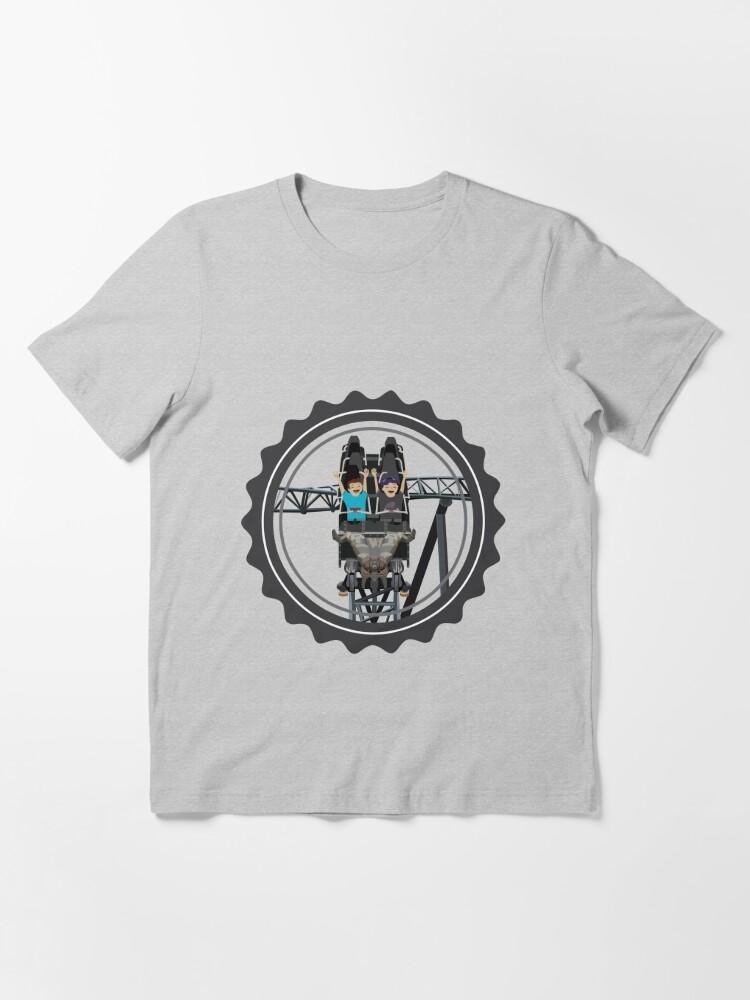 Alternate view of Klugheim Rollercoaster Design Essential T-Shirt