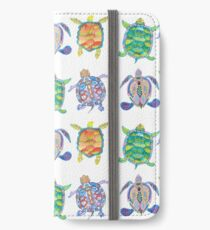 Sea turtles tropical theme iPhone Wallet/Case/Skin