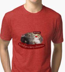 We wish you bah humbug Tri-blend T-Shirt