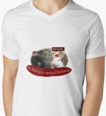 We wish you bah humbug Men's V-Neck T-Shirt