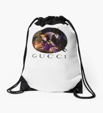 maleficent wicked Drawstring Bag
