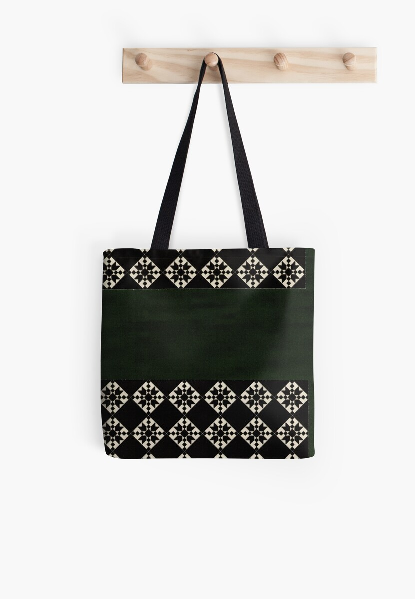 Green Christmas design black and green by AlyinWonderland