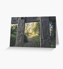 The Way is Shut? - 2 | Ireland Greeting Card