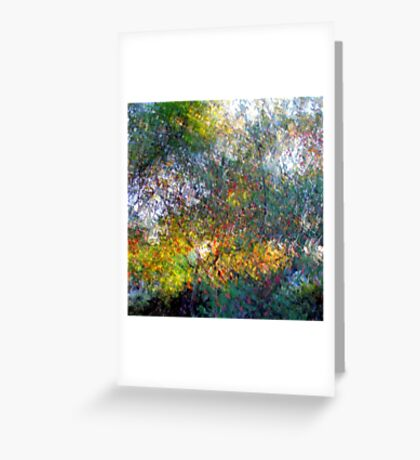 Ode to Monet Greeting Card