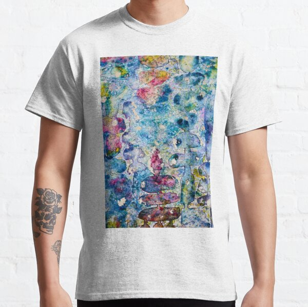 Abstract: Abalone Shell Colors Classic T-Shirt