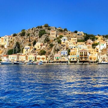 Gialos Harbour Panorama by tomg