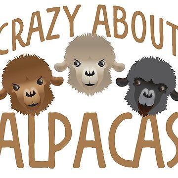 Crazy about Alpacas! by jazzydevil