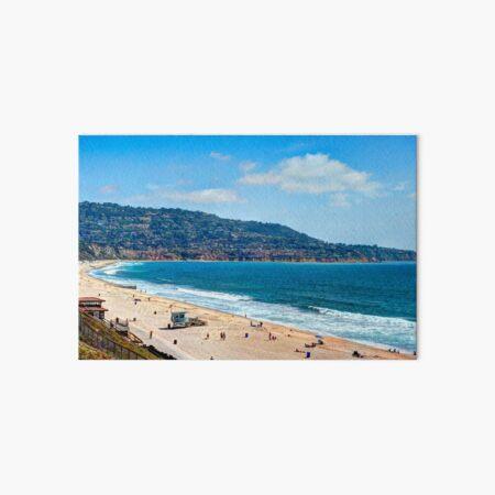 Torrance Beach California Art Board Print