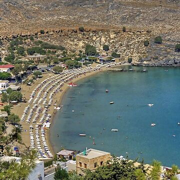 Lindos Bay by tomg