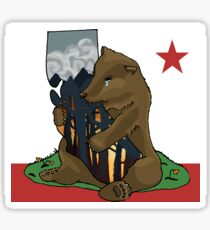 California fires - ARTIST PROCEEDS DONATED TOWARDS WILDFIRE RELIEF Sticker