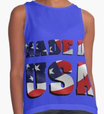 usa Sleeveless Top