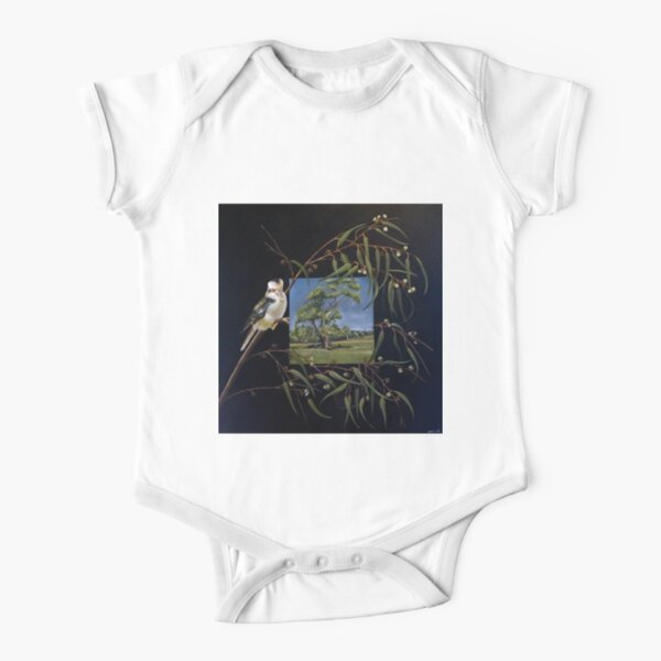 Merry Merry King - Oil on canvas  Short Sleeve Baby One-Piece