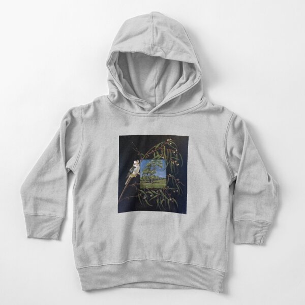 Merry Merry King - Oil on canvas  Toddler Pullover Hoodie
