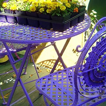 Purple Seating by AuntDot