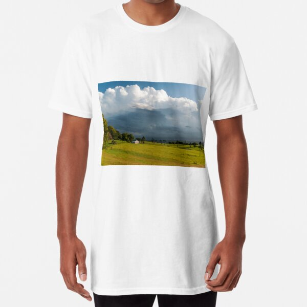 Storm Clouds Approaching, Maleny Long T-Shirt