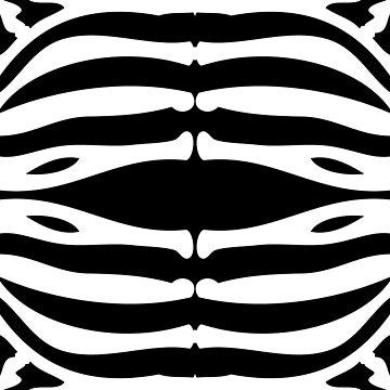 Zebra Pattern - horizontal  by Real-Digital