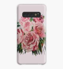 Pink Roses  Case/Skin for Samsung Galaxy