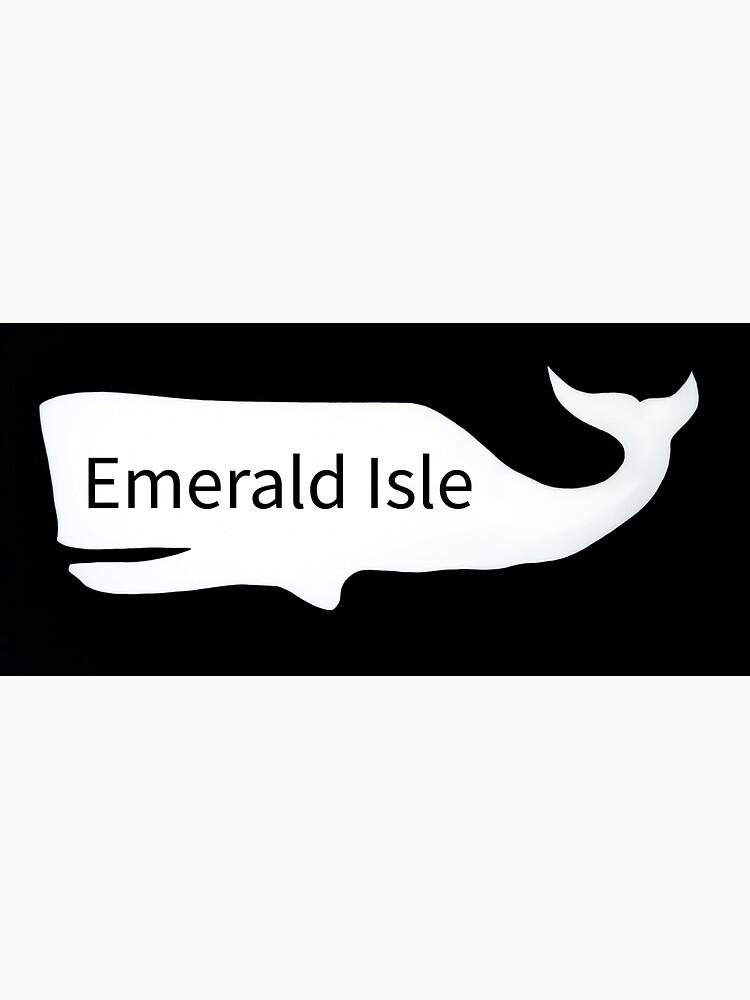 Emerald Isle whale  by barryknauff
