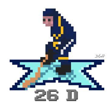 NHL 94 - BUF #26 - Dahlin by BLH-Hockey