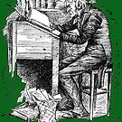 Old Scrooge sat busy in his counting-house by Bonnie Nilsen