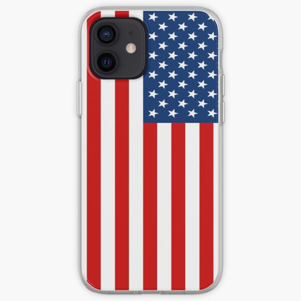 American Flag iPhone Soft Case