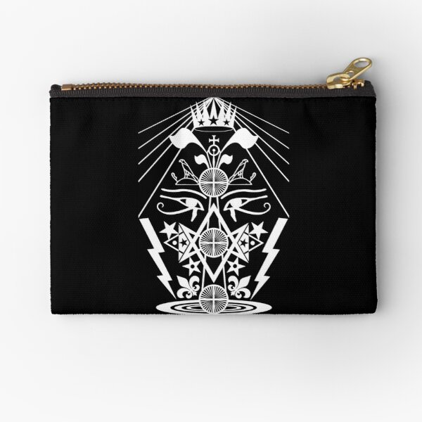 That Which Was, Is, And Is To Come Zipper Pouch