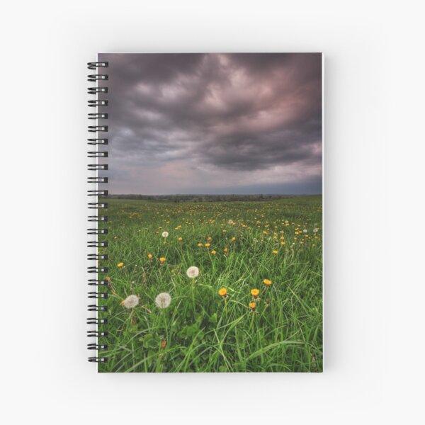 Dandy Field v3 Spiral Notebook
