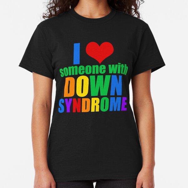 Down Syndrome Love Rainbow Classic T-Shirt
