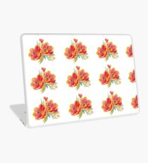 Tulips in watercolour Laptop Skin