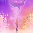 Anime-Wal im Himmel von LunarAphelion