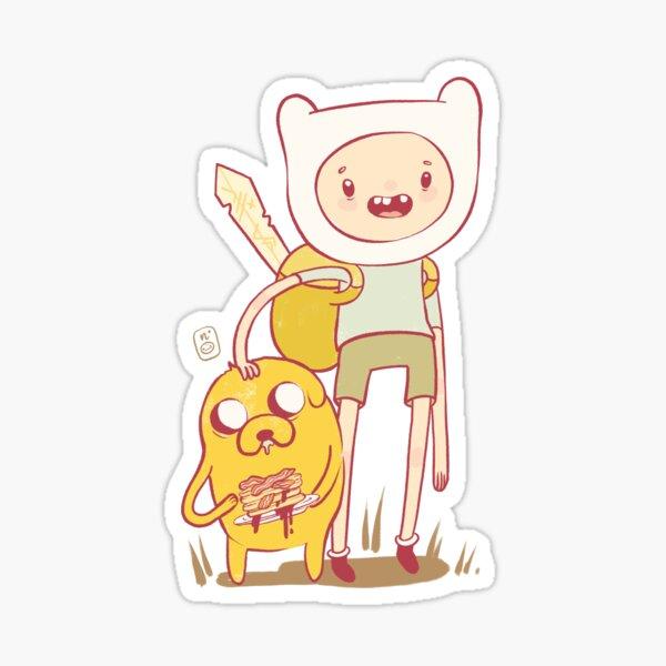 Adventures & Bacon Pancakes Sticker