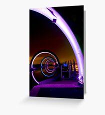 Falkirk Wheel at Night Greeting Card